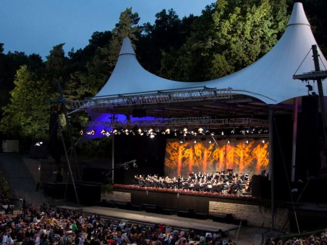На концертах Берлинского филармонического оркестра